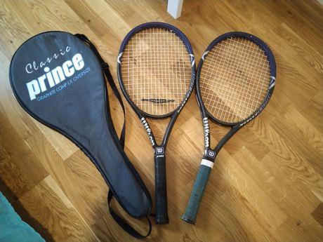 Rakiety tenisowe Wilson + futerał