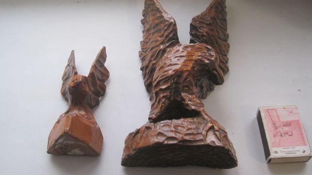 деревяна іграшка Два орла птица птах пташка игрушка фигурка фігурка
