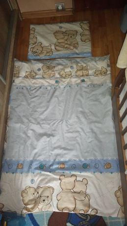 Pościel + kołdra z poduszką 120x60