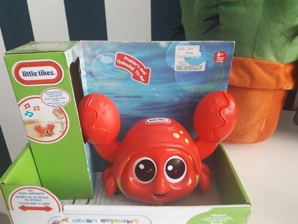 Zabawka Krab na kółkach