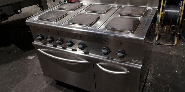 Kuchnia 6 płytowa Dexion z piekarnikiem