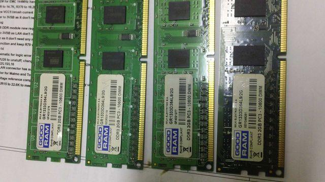 Оперативная память DDR3 4x2Gb