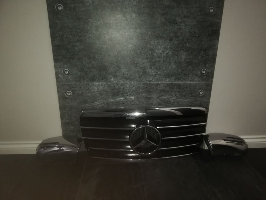 Nakładki lusterek do Mercedesa s klasa W220 Kluczbork - image 1