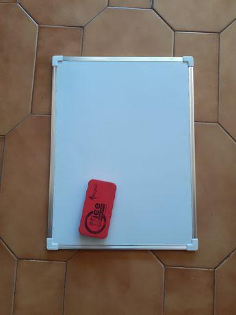 Quadro magnético 40×30cm e apagador
