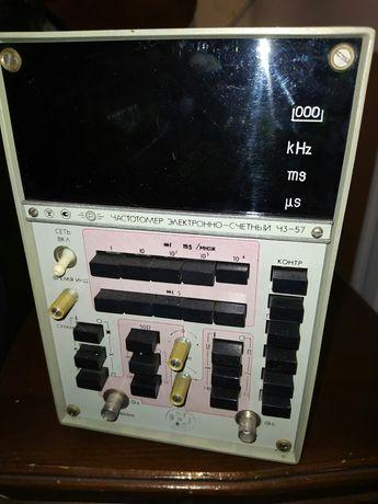 Частотамер Ч3 -57 корпус с деталями