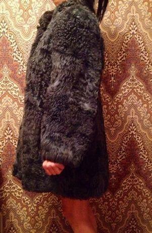 Зимняя шуба ,натуральный овечий мех