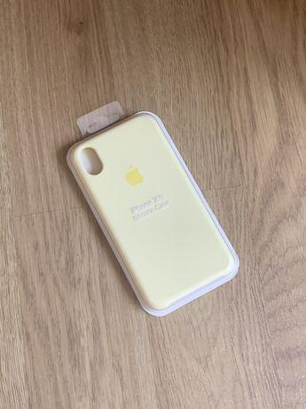 Apple etui case iphone xr żółty