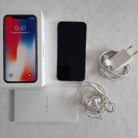 Smartfon Apple iPhone X 256 GB Space Gray + gratis