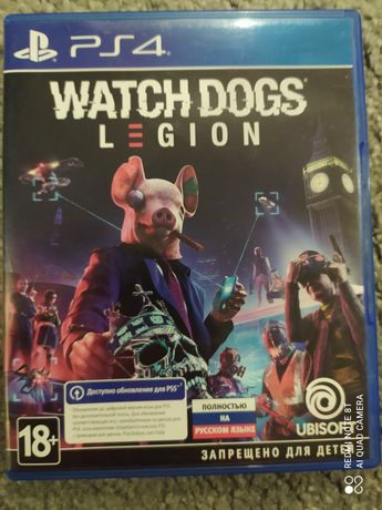 Watch dogs legion for ps4/ps5