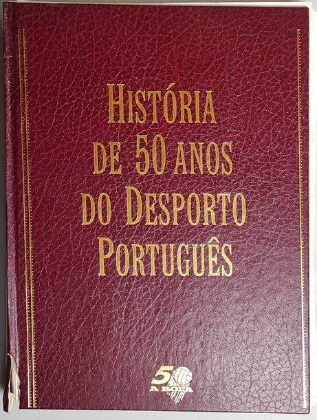 Fascículos - História de 50 Anos do Desporto Português - A Bola