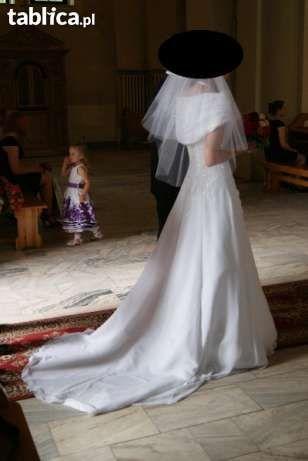 Suknia biała 38