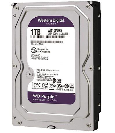 Western Digital WD Purple 1TB para videovigilancia