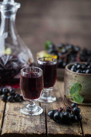 Aronia na sok, wino, dżemy, obniża ciśnienie, wzmacnia odporność