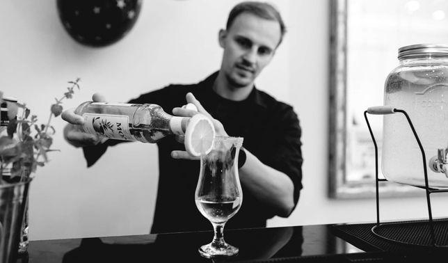 Barman na wesele, imprezę firmową, okolicznościową! Mobilny bar