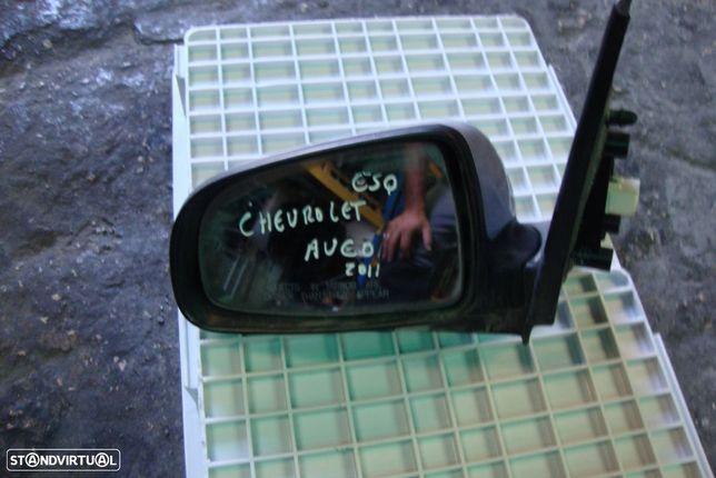 Espelho retrovisor esq. Chevrolet Aveo