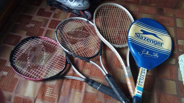 Тенисные ракетки Фирменные 3 шт