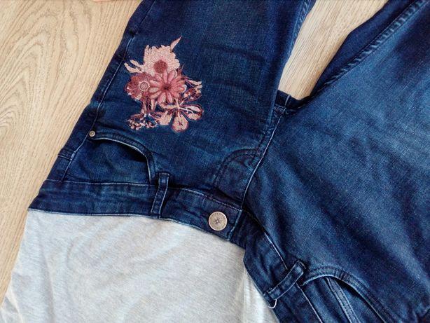 Ciążowe spodnie, spódnica