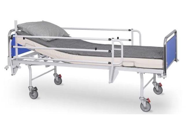 Łóżko rehabilitacyjne elektryczne z materacem przeciwodleżynowym III s