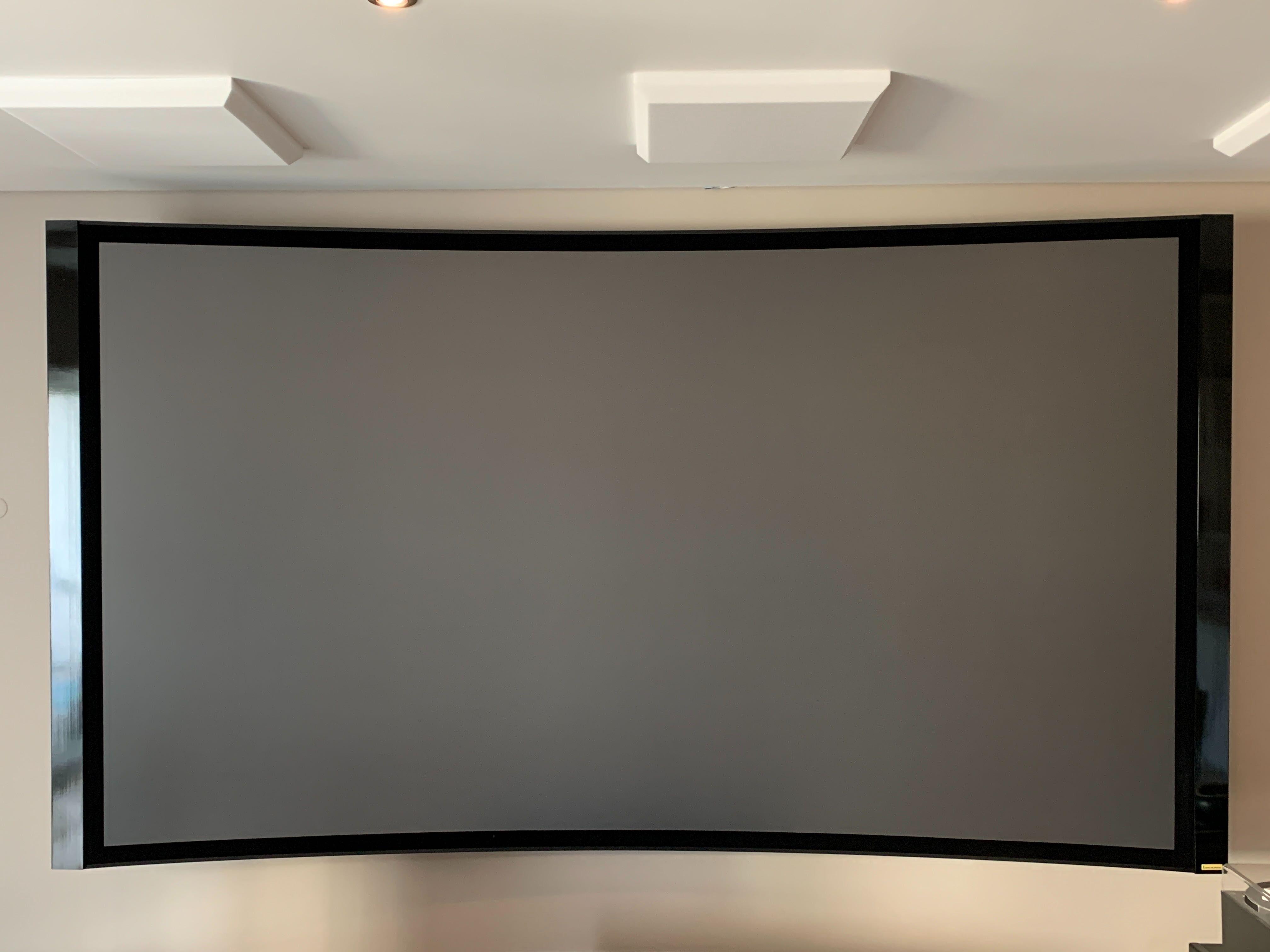 "Tela técnica para projetor 120"" Lusoscreen Darkstar"
