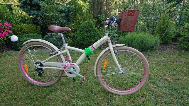 Sprzedam rower dla dziecka BTWIN 24 cale