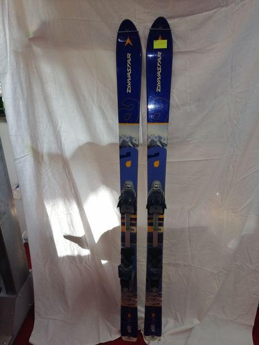 Dynastar tour 150cm z wiązaniami Diamir i fokami tani zestaw skiturowy Nowy Targ - image 1