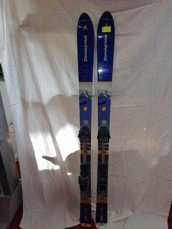 Dynastar tour 150cm z wiązaniami Diamir i fokami tani zestaw skiturowy