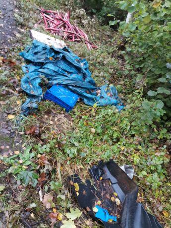 Wywóz rzeczy mebli śmieci gruzu Działki domy mieszkania WYWÓZ GRUZU