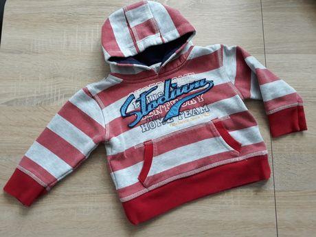 Bluza z kapturem dla chłopca r. 12-18m