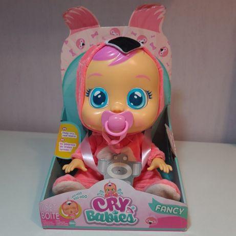 Интерактивная Кукла пупс плакса Фанси Фламинго MC Toys Cry Babies Fanc