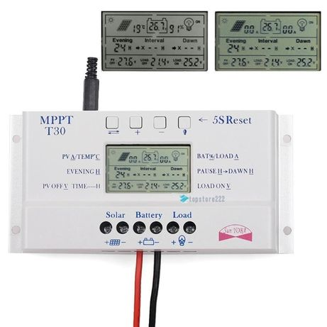 MPPT T30A Solar panel charge controller regulator solar panel 380w/12v