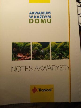Notes akwarysty akwarium