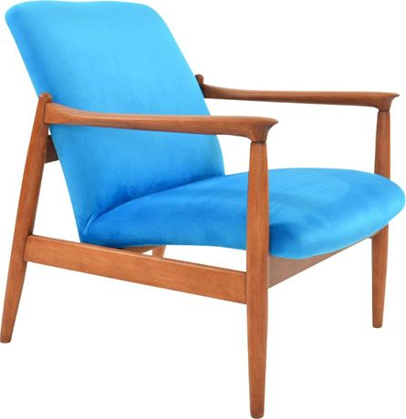 Kultowy fotel GFM-64 z lat 60-tych, projekt E.Homa, Design PRL