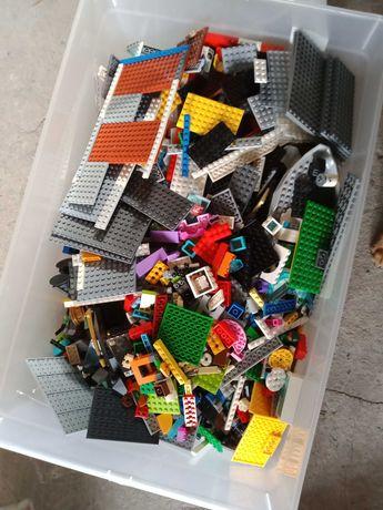 Klocki LEGO mix wraz z instrukcjami