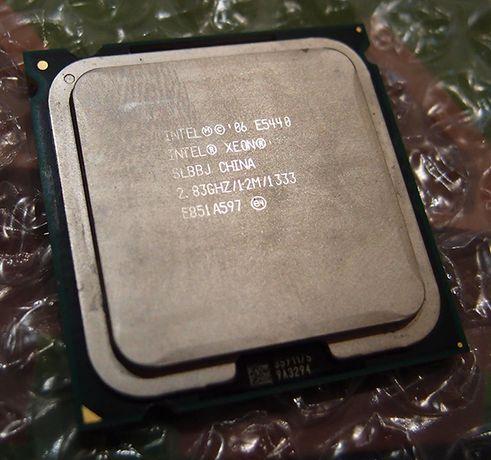 Процессор Intel Xeon E5420/E5430/E5440 4 ядра - 750/1050/1350 РУБ