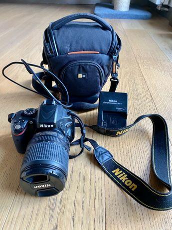 Nikon D5100 + Nikkor 18-105mm MAŁY PRZEBIEG