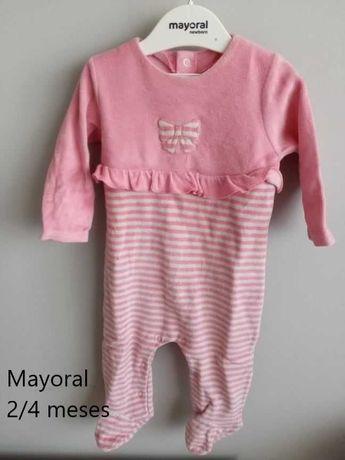Babygrow/Pijamas Bebé Menina Mayoral 0/1, 2/4 meses