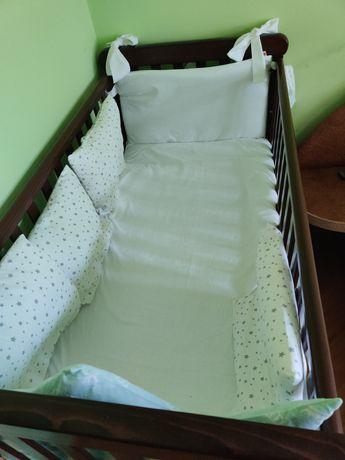 Дитяче ліжечко з Матрацом бамбук