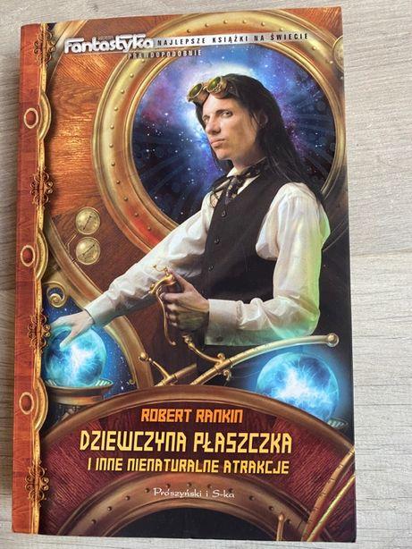 Książka - Dziewczyna Płaszczka - Robert Rankin