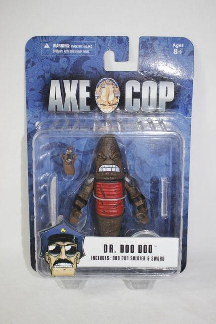 Boneco / Figura - Dr. Doo Doo - Axe Cop - Novo