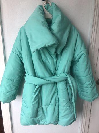 Зимняя пуховик (куртка) одеяло. р 128-134
