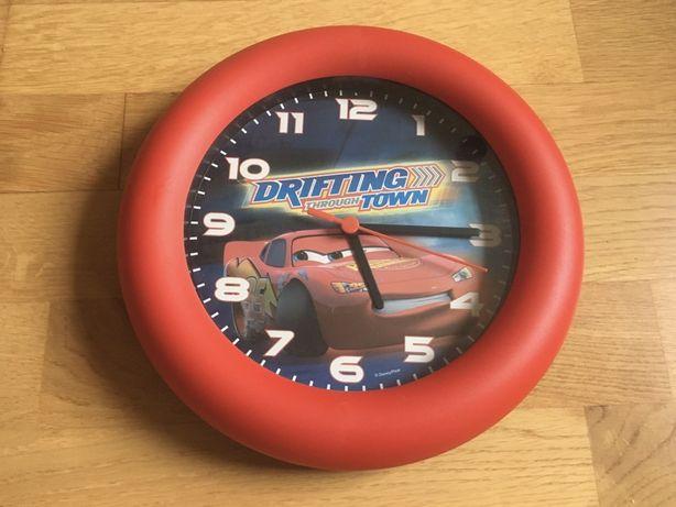 Zegar ścienny Auta