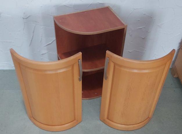 Szafka kuchenna półokrągła,buk ,drewno bukowe