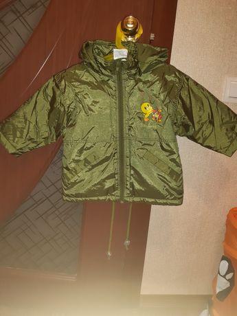 Курточка демисезонная 1,5-2,5 года унисекс.