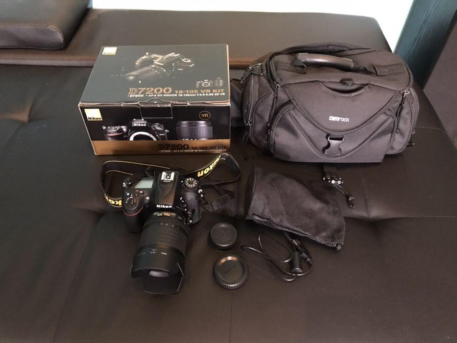 Nikon D7200 + NIKKOR 18-105mm VR KIT + torba Jelenia Góra - image 1