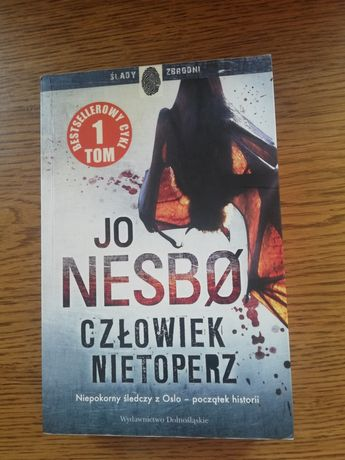 """Książka """"Człowiek Nietoperz"""" Jo Nesbo"""