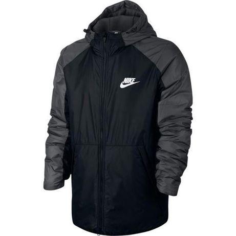 Kurtka męska Nike M NSW Syn Fill HD FLC LN czarna 861788-różne rozm