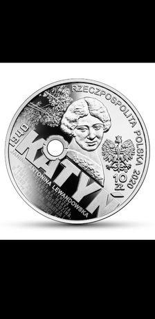 Moneta 10 zł Katyń-Palmiry 1940.