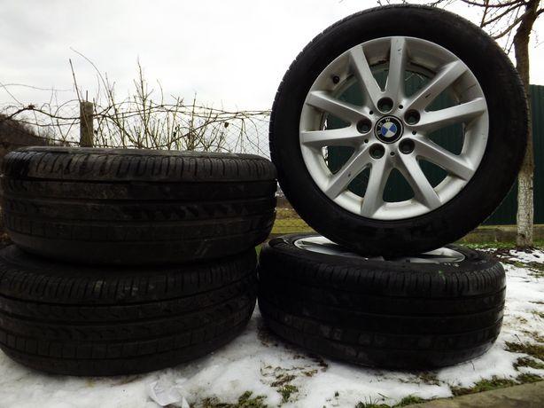 Диски с шинами на BMW 5×120
