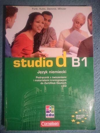 Studio D B1 Język niemiecki podręcznik + zeszyt ćwiczeń
