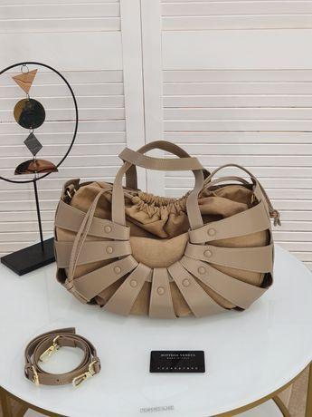 Модная кожаная женская сумка Bottega Veneta боттега венета.Разные цвет